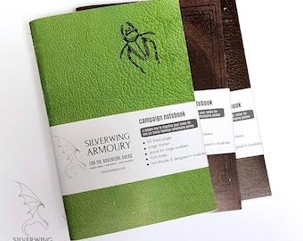 NOTEBOOK BUNDLE - Tabletop RPG Campaign Notebooks