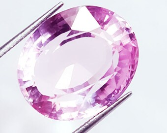 Excellent Ring Size 29.23 Ct Natural Brazilian Pink Kunzite Gemstone