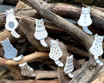 8 rests cat knives or ceramic sandstone chopsticks