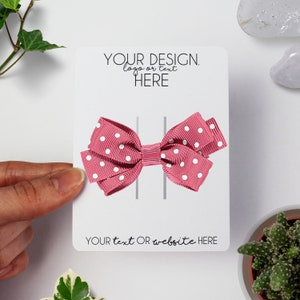 Card Displays for Clips Hair Bow Cards Display Cards for Hair Clips Bow Backing Cards Bow Clip Cards Backing Cards for Hair Clips