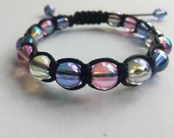 Shambala translucent bracelet
