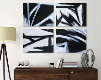 Modern Paintings - 4 piece set