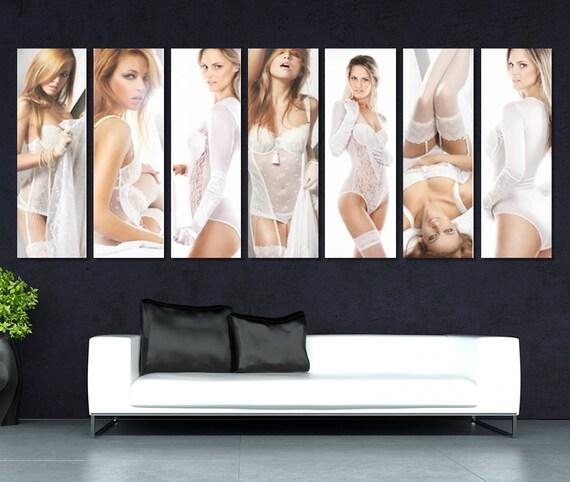 Sexy canvas art