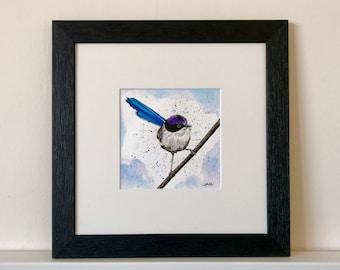 Original Artwork - Fairy wren