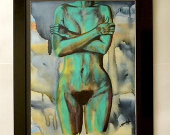 Original Painting - Pudeur