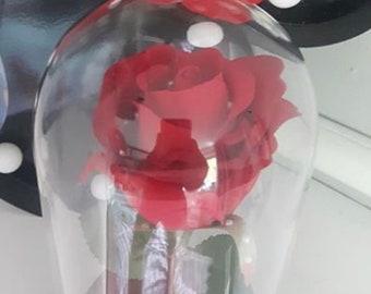 Handmade enchanted roses