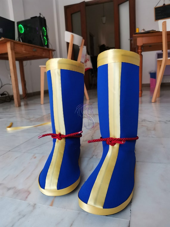 Dragon Ball Z Goku Boots for Cosplay | Etsy