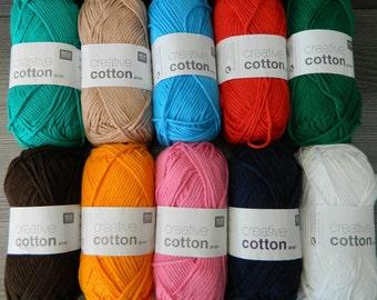 creative cotton aran - Rico design- 50g