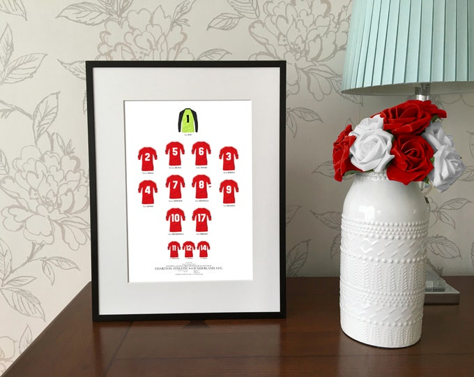 Charlton Athletic - The Playoff 1998 A4 Print