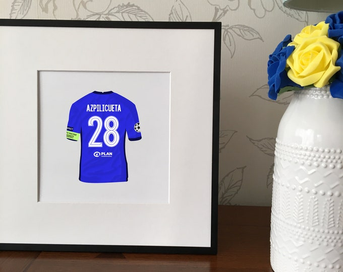Chelsea - Any player 20cmx20cm Print
