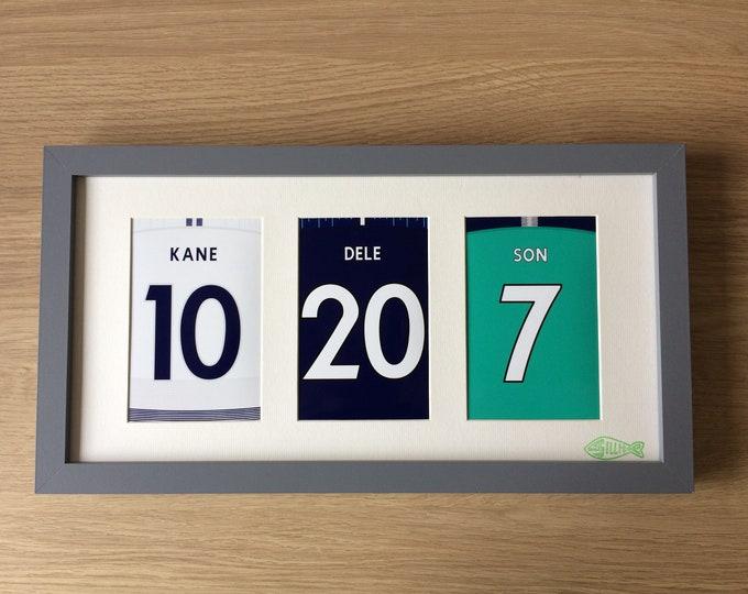 Tottenham Hotspur 18/19 prints