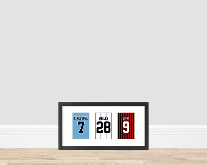 Manchester City - Back to the Old Skool 1990s Prints