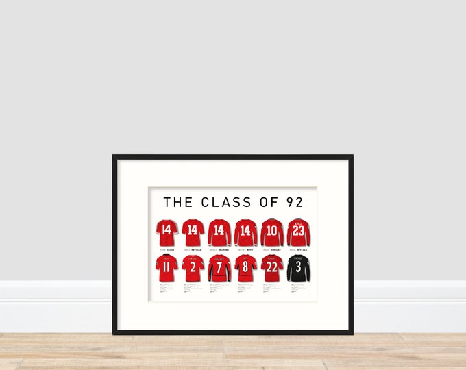 The Class of 92 print