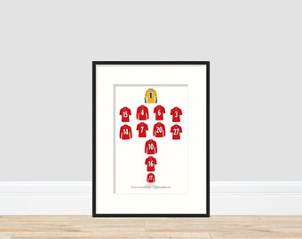 Middlesbrough - League Cup Winners 2004 A4 Print