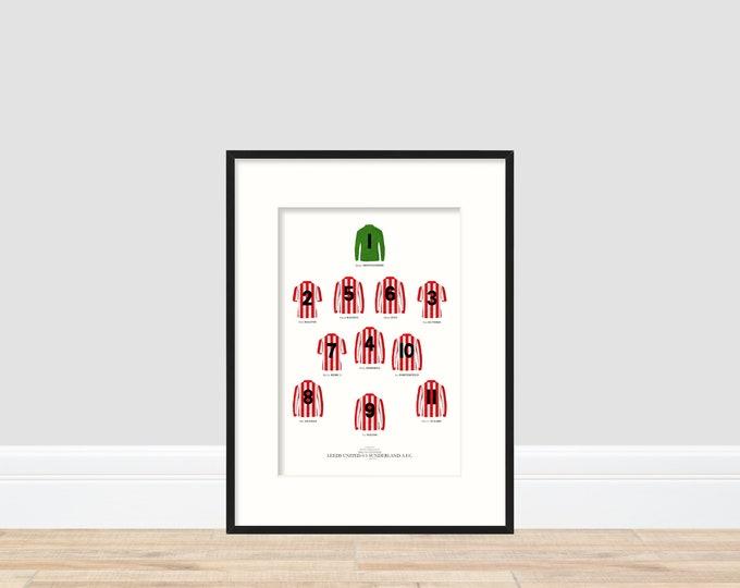 Sunderland - FA Cup Winners 1973 A4 Print