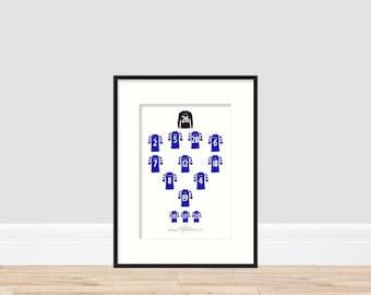 Birmingham City - League Cup Winners 2011 A4 Print