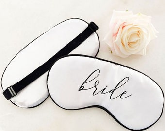 Bride Sleep Mask - Mrs Sleep Mask - Bride to Be Gift - Bridal Shower Gift for Bride - Bridal Shower Gift Bride Gift Ideas