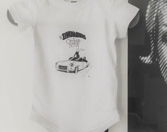 """12M child bodysuit """"The Limianas on tour"""" - Artwork Elric Dufau"""