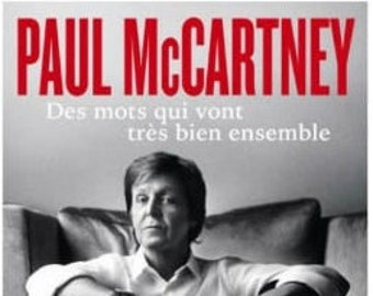 Paul Mccartney - Words that go very well together-