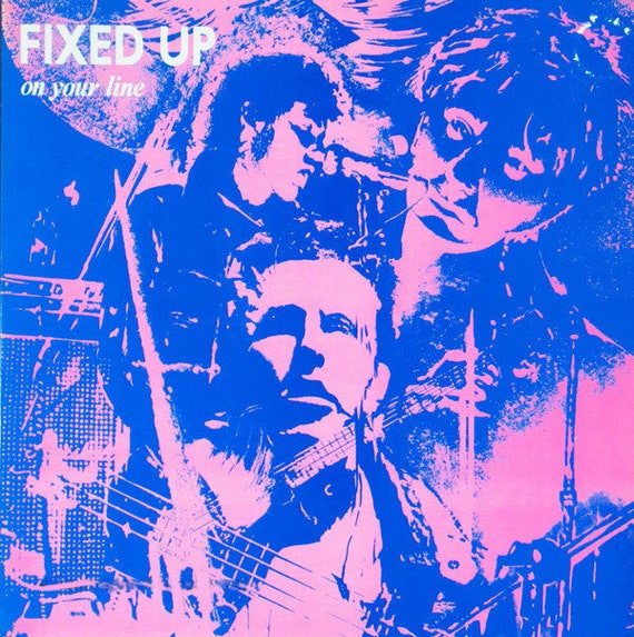 """Fixed Up-Maxi vinyl 12"""" Closer/New Rose-recording VG"""