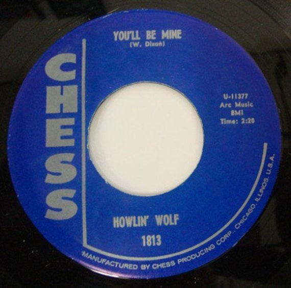Repro RNR/RNB - 45t/7' No sleeve -Howlin Wolf- You'll be mine/going down slow