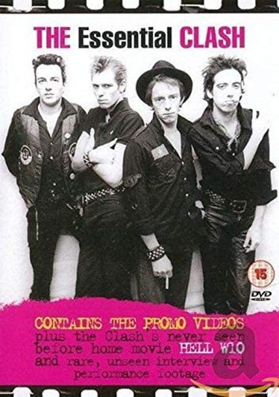 The Clash- Essential Clash- DVD Pal