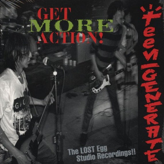 Teengenerate-Get MORE Action LP Crypt records