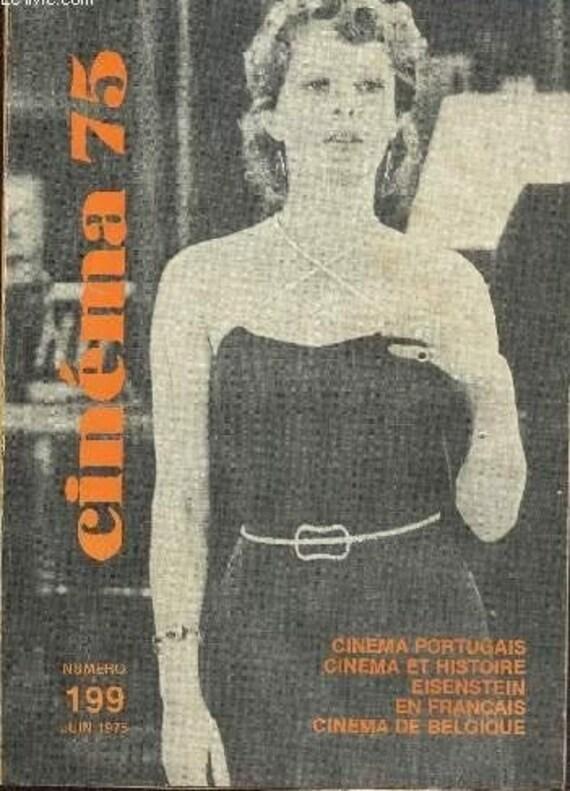 CINEMA 75 Numero 199 Juin 1975 second hand bon état