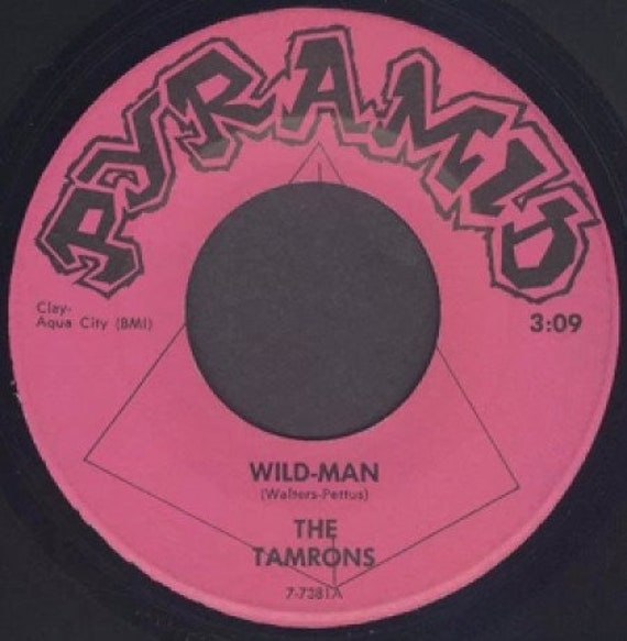 Repro garage punk 6O's - 45t/7' No sleeve- Tamrons- Wild Man/Stop, look and listen