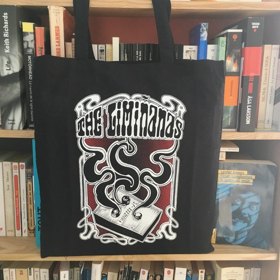 Tote bag. FUUUUZZ  The Limiñanas Noir Artwork Sadhu le serbe