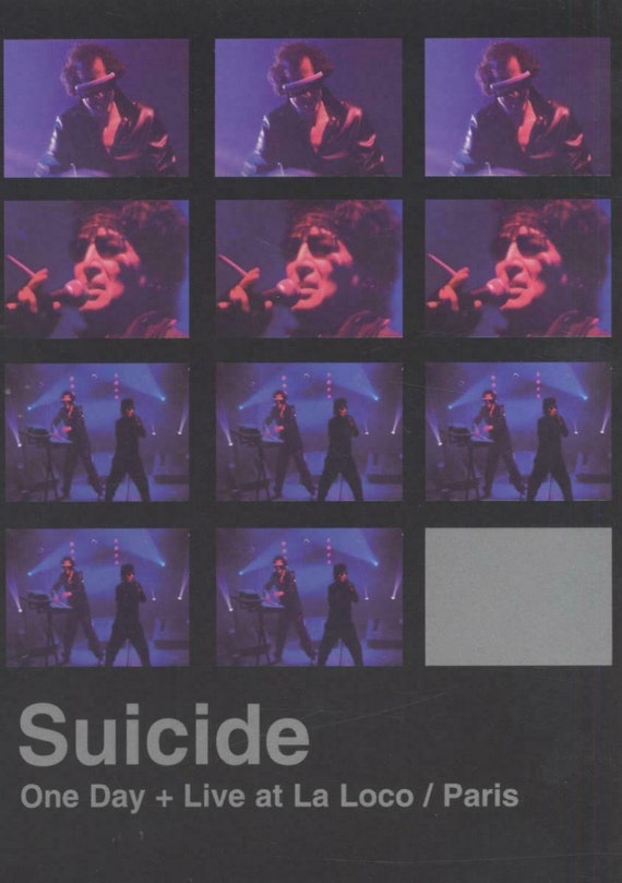 Suicide- One day + Live at la loco/Paris  DVD
