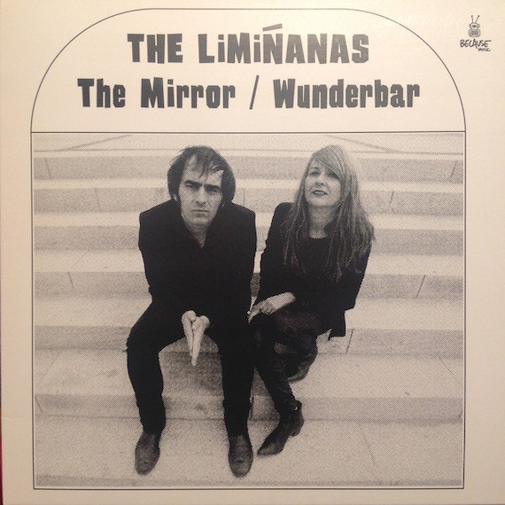 "The Limianas 45t/7"" The Mirror/Wunderbar. Ultra-rare special concert edition ""The leather goods"""
