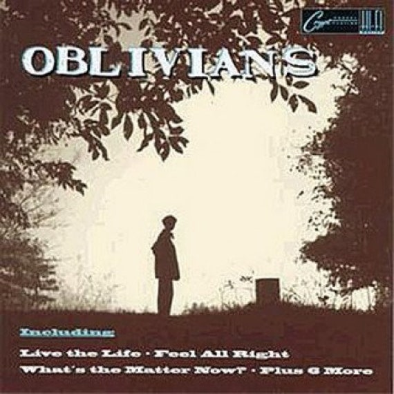 Oblivians- Play nine songs with Mr Quintron - lp Crypt Records