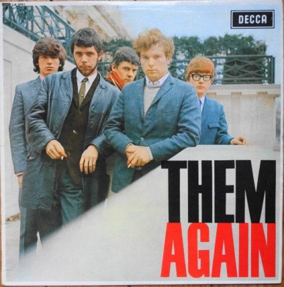 Them- Them Album-THEM Again- LP Reedition Decca