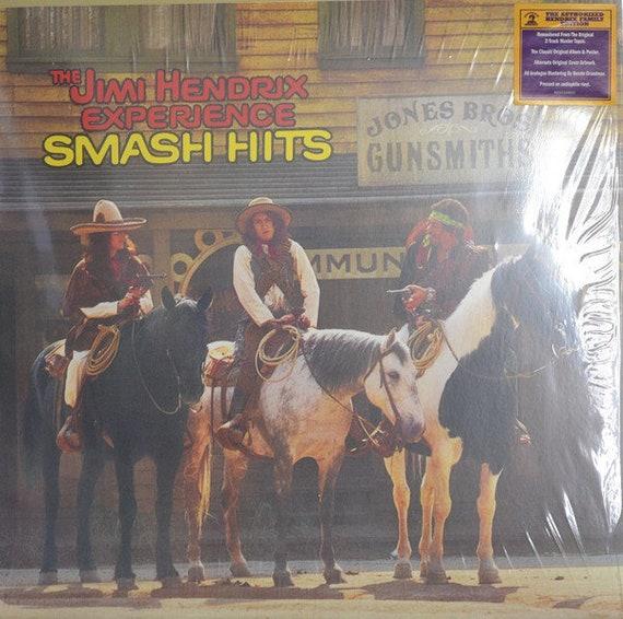 The Jimi Hendrix Experience – Smash Hits-LP reissue