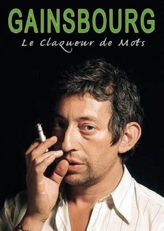 Serge Gainsbourg-Le claqueur de mots- DVD ALL region-