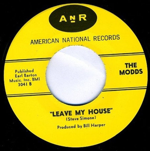 Repro garage punk 6O's - 45t/7' No sleeve-The Modds -All The Time In The World / Leave My House