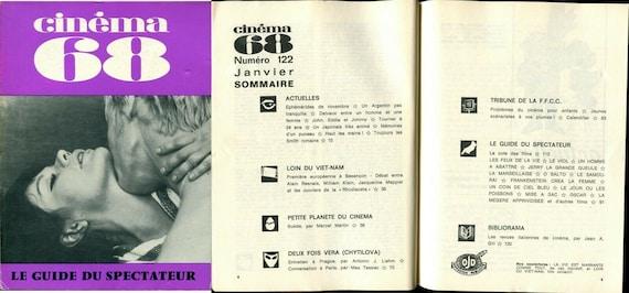 "Review ""Cinema"" N 122 - Alain Resnais/William Klin/Vera Chytilova... January 1968"