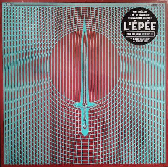 L'Epée - Diabolique- LP Vinyl-   ( Limiñanas + Anton Newcombe + Emmanuelle Seigner) UK version A recording
