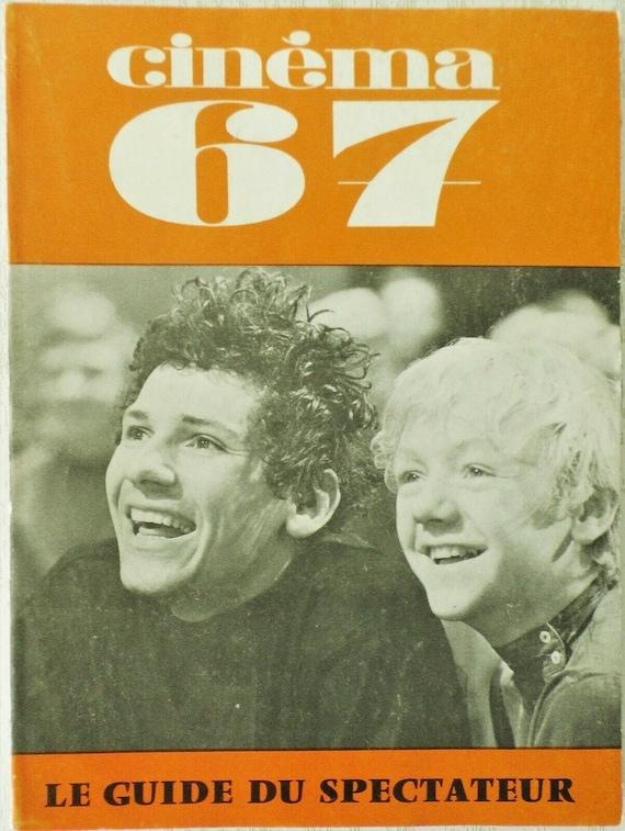 GUIDE DU SPECTATEUR 119/Cinema 67  Volker Schloendorff- le cinema en Belgique- accident-persona - bon état