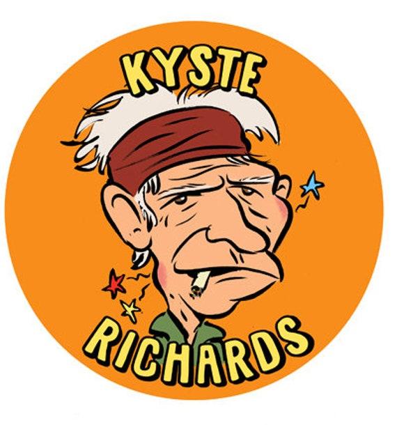 Badge-Kyste Richard- 38 mm
