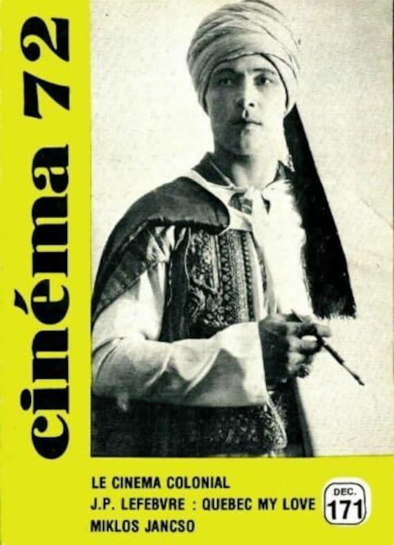 CINEMA 72 NUMERO 171  Occasion - Bon Etat -  (1972) Editeur  Fédération française des ciné-clubs Date de parution : 1972 état.