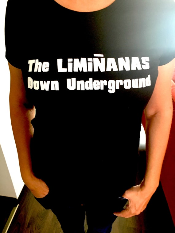 "T Shirt Women's ""Down Underground"" The Limi-anas-black - Limited stock!"