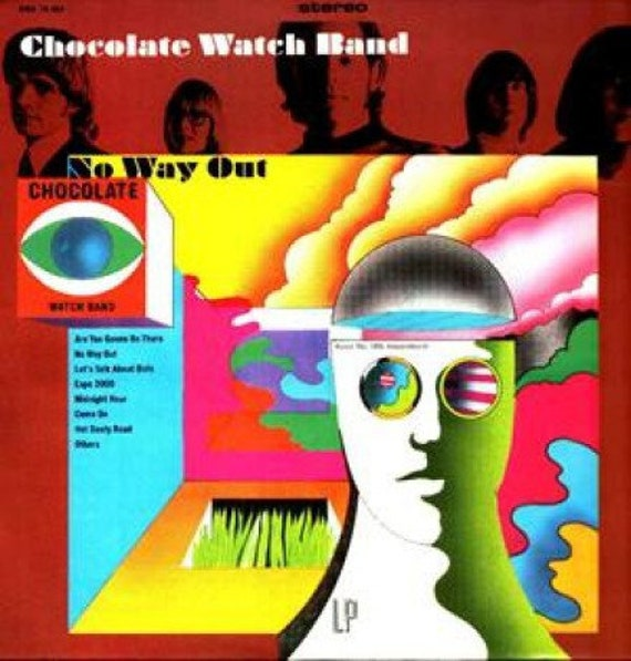 Chocolate Watchband - No way out - Lp Vinyl