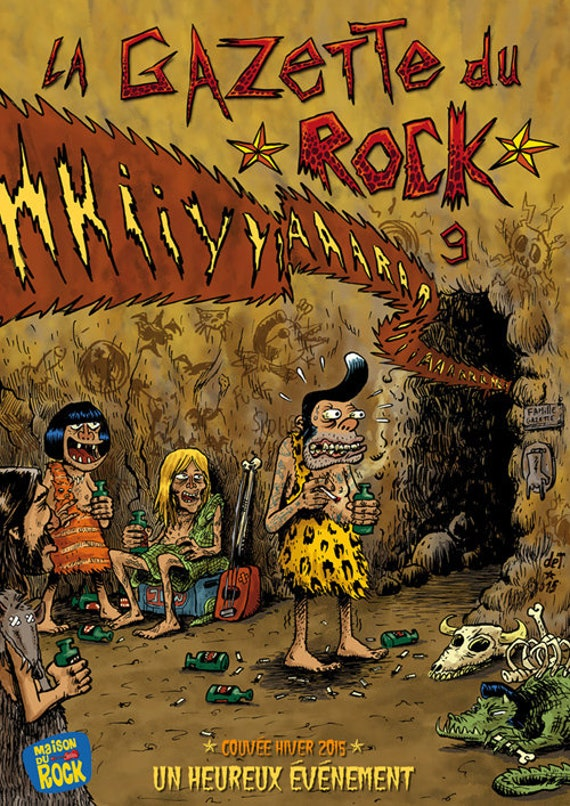 The rock gazette numero 9- The origins of rock- DET