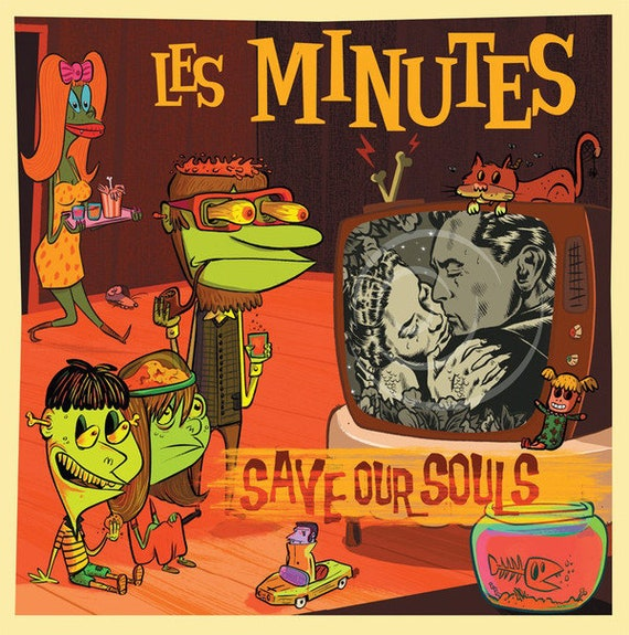 Les Minutes- Save our souls- 10' vinyl