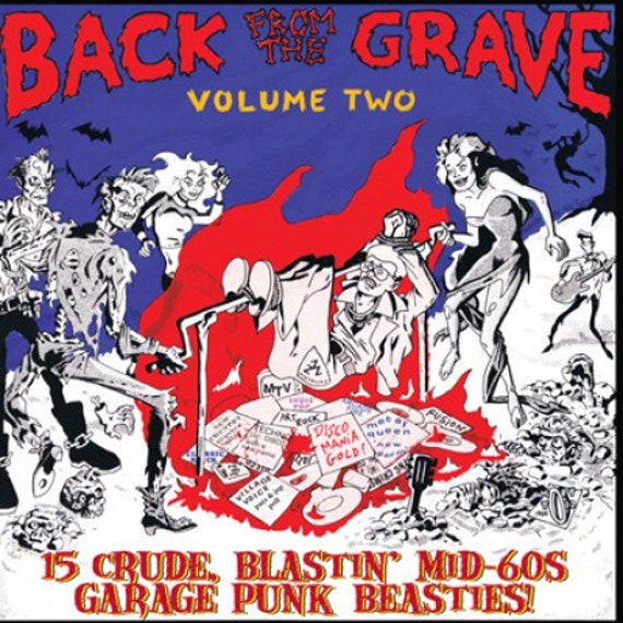 Back from the grave vol 2 LP