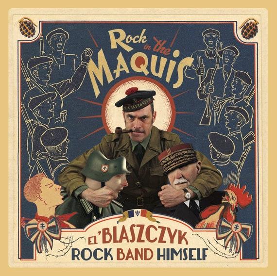 EL BLASZCZYK- Rock Le Maquis- LP Double- Monotone Records
