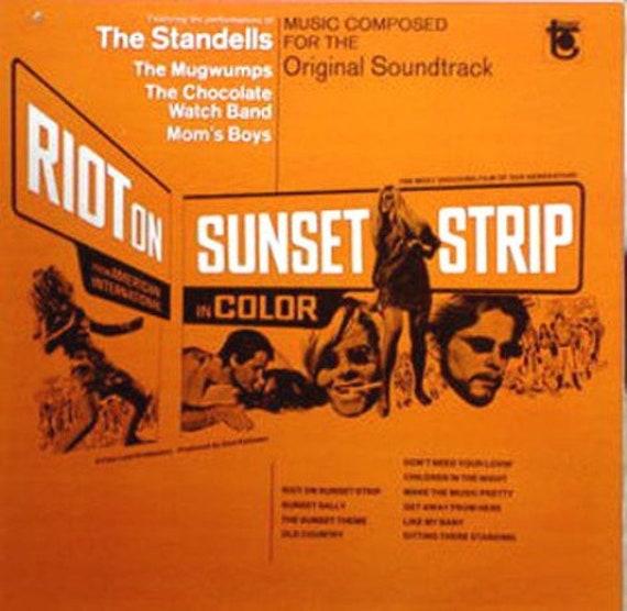 Various Artist- Album Riot On Sunset Strip Format LP Label Tower