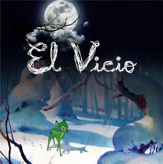 """EL VICIO- 45t/7""""- Longanisse/Death Trip 2024/Trash. Rococo records"""